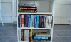 $20 Books with Bookcase