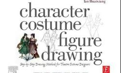 $20 Character Costume Figure Drawing by Tan Huaixiang