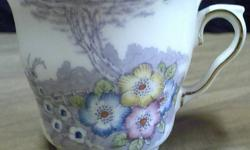 $20 Colclough Bone China Mugs (Pair)