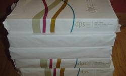 "$20 COPY PAPER dps 20LB 8 1/2"" x 14"" 92 bright 6 -REAMS"