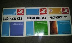 $20 CS3 books for Sale New Condition