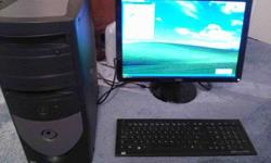 $20 Dell Optiplex GX270 computer tower with keyboard and