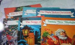 $20 Extra large children christmas books