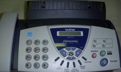 $20 Fax Machine Brother 575 Personal Plain Paper Fax Fax,