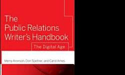 "$20 For Sale: ""The Public Relations Writer's Handbook"""