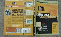 $20 Html Virtual Classroom Book & C/D Video
