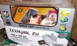 $20 Lexmark Z32 Printer New in box