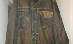 $20 like new men's 4 XL D*Kazi Denim Jacket/Coat * * * * *