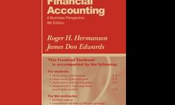 $20 OBO Financial Accounting, A Business Perspective, 9th