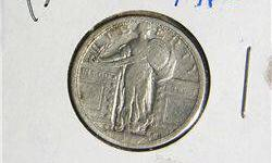 $20 Scarce 1917-S Type I Standing Liberty Quarter