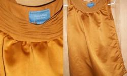 $20 Silk Mustard Yellow Vera Wang Shirt