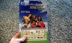 $20 Super Saver coupon books! 360 coupons for $20!