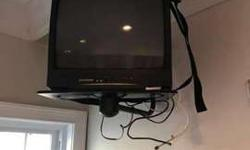 "20"" TV w/Wall Mount Bracket - 5 available"