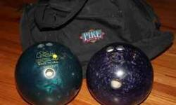 $20 Two Bowling Balls and Bag