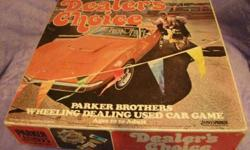$20 Vintage 1972 Parker Brothers Dealers Choice Game