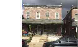 213 Madison St Coatesville Two BR, Brick twin home located