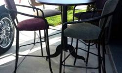 $215 Great Condition. . . Dining Table & 4 Chairs