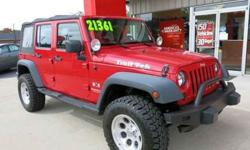 $21,373 2008 Jeep Wrangler Unlimited X