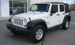 $21,997 2008 Jeep Wrangler Unlimited X