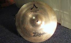 $225 13 inch Zildjian A Custom Mastersound Hi-Hat Pair