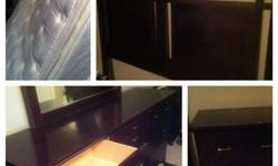 $225 OBO Mattress, bedroom set, dining room set, hutch,