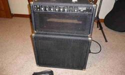 $225 peavey encore 65 all tube head & cab (okc - moore)