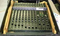 $225 Peavey MD-8 Mixer & Road Case