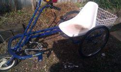 $225 recumbent /3 wheel bike (moore)
