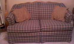 $225 Sofa and Matching Loveseat, Additional Chair-Rocker