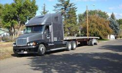 $22,000 1998 Freightliner Century 120 Semi and Trailer