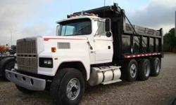 $22,000 Used 1985 ford 9000 16 ft tri axle dump for sale.