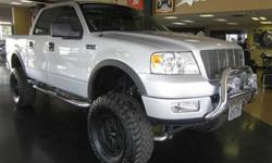 $22,000 Used 2005 Ford F-150 Lariat 4x4 Truck, 79,965 miles