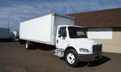 $22,900 2007 freightliner m-2 26 ft box truck only 105,000