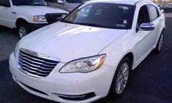 $22,999 2012 Chrysler 200 Limited Sedan 4D