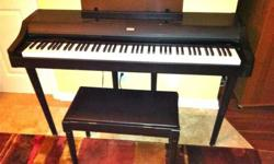 $245 Electronic Piano w/legs & bench=Concert C-30 Korg