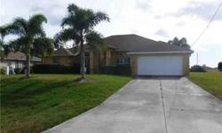 2460 NW 9th ST Cape Coral, Beautiful 4 BD / Two BA Pool Home