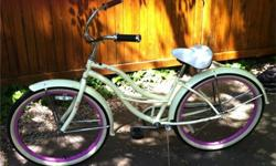 $249 OBO Women's yellow and pink beach cruiser
