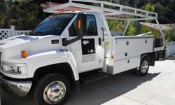 $24,500 CONTRACTOR WORK TRUCK 2003 GMC C 4500 With Only