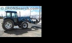 $24,550 1997 Ford NH 6640SL Tractor 4WD