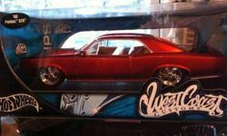 $24 66 Pontiac GTO West Coast Customs Scale 1:18