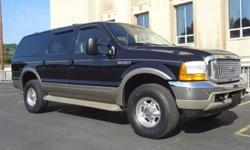 $24,900 Used 2000 Ford Excursion Limited 4x4 SUV, 108,500