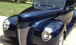 $24,950 Used 1940 Ford Sedan Deluxe Automatic Coupe, 11,530