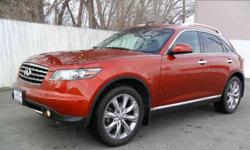$24,995 2006 Autumn Copper Infiniti FX45