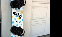 $250 Bataleon Goliath Snowboard with Burton Triad Bindings