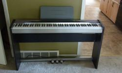 $250 CASIO Privia PX-110 88-key Digital Piano w/ Stand &
