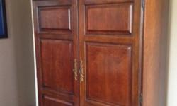 $250 Cherrywood Computer Armoire