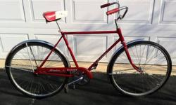 $250 Early 1970's Schwinn Racer - Red