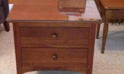 $250 Ethan Allen Bed Side Table