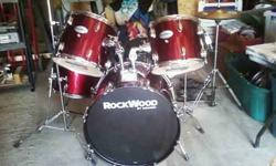 $250 Hohner 5 pc drumset w/cymbals