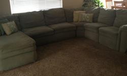 $250 OBO LaZboy Devon Sectional Couch